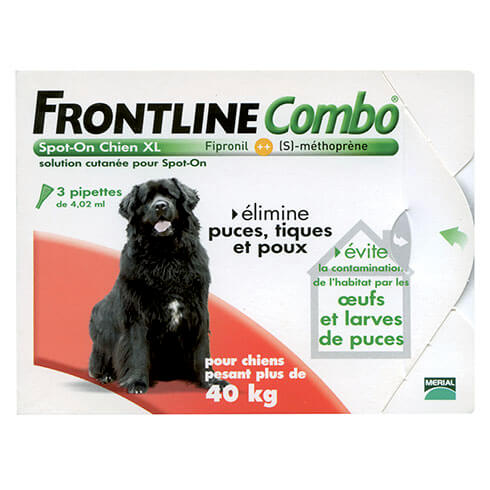 More informations about: Frontline Combo dog XL