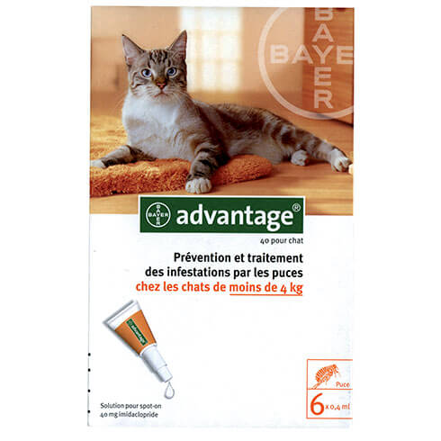 More informations about: Advantage 40 for cat
