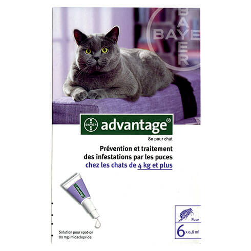 More informations about: Advantage 80 for cats