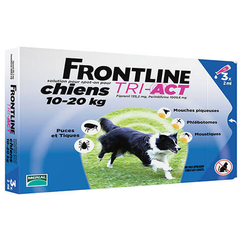 More informations about: Frontline Tri-Act pour chien de 10-20kg