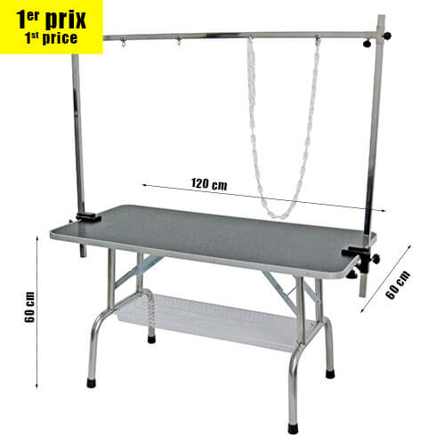 More informations about: Folding table TP1200 for big dogs