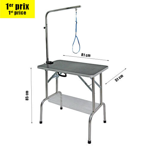 More informations about: Folding table TP810 for small dogs & cats