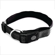 More informations about: Adjustable dog collar - Neo Black