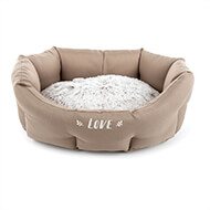 More informations about: Comfort dog beige basket - Igloo - Martin Sellier