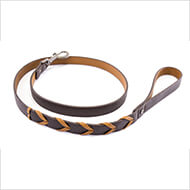 More informations about: Dog collar - Explorer collection - Téo Jasmin - Lead - size 100 x 1 cm
